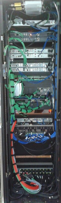 SNG 1 of 2 rack achterkant auto.